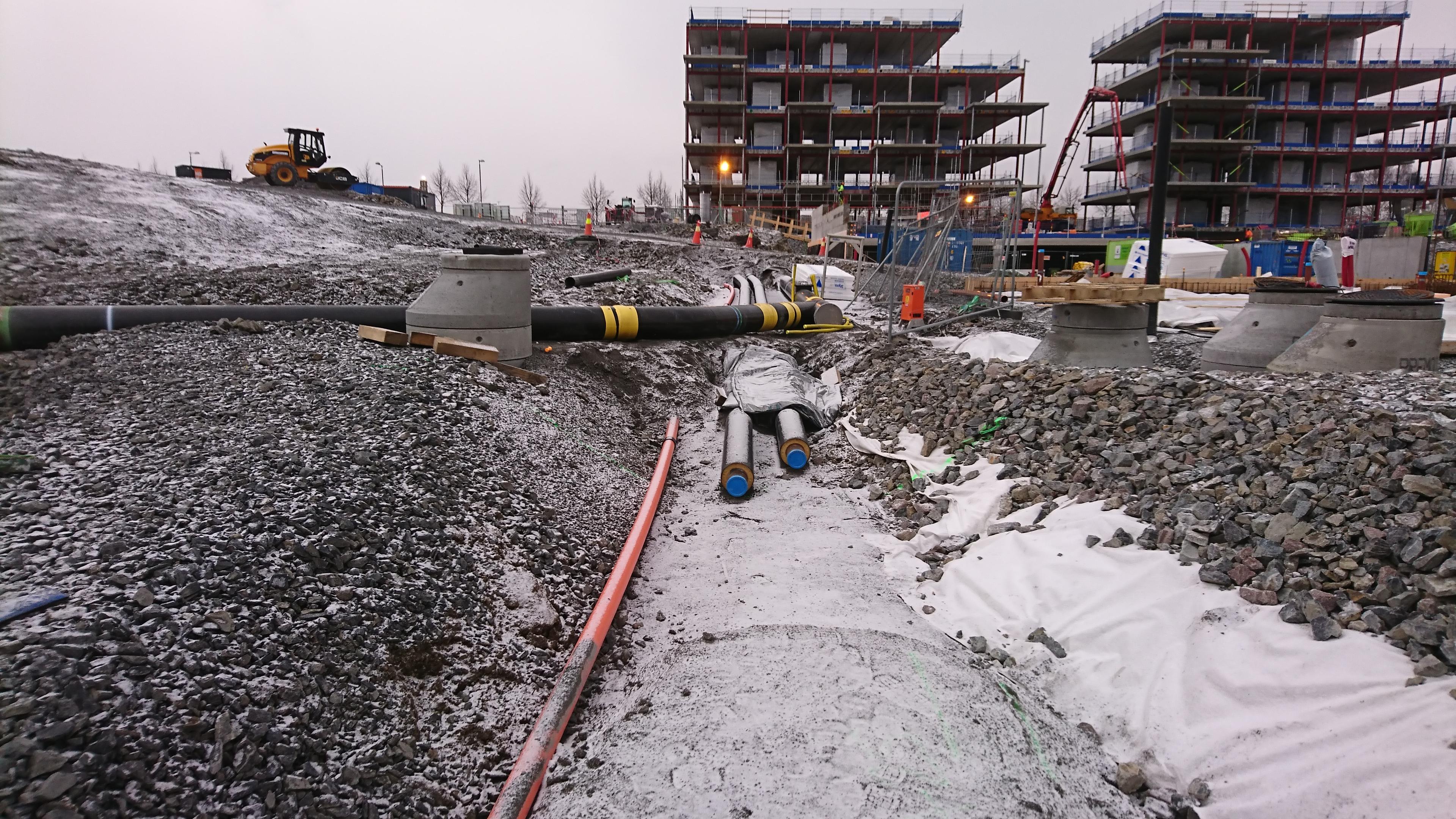 Byggvarme levert av Oslofjord Varme