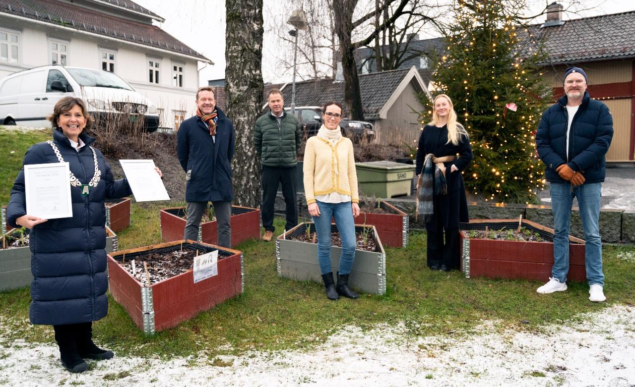 Miljøprisen deles ut av Bærum kommune til Oslofjord Varme